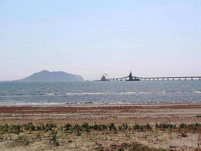 函館山と海上桟橋