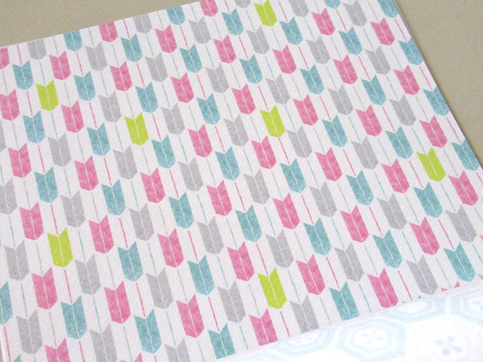ダイソーの「和紙ちよがみ パステル小紋柄」水彩タッチがとにかくかわいい!