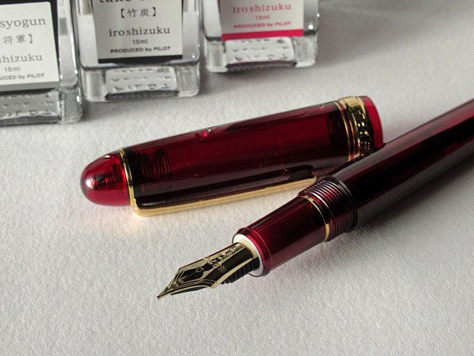 万年筆:プラチナ #3667 センチュリー「ブルゴーニュ」